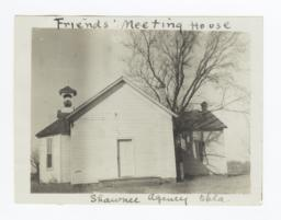 Shawnee Mission, Friends' Meeting House, Oklahoma