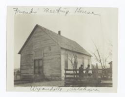 Friends' Meeting House at Wyandotte, Oklahoma