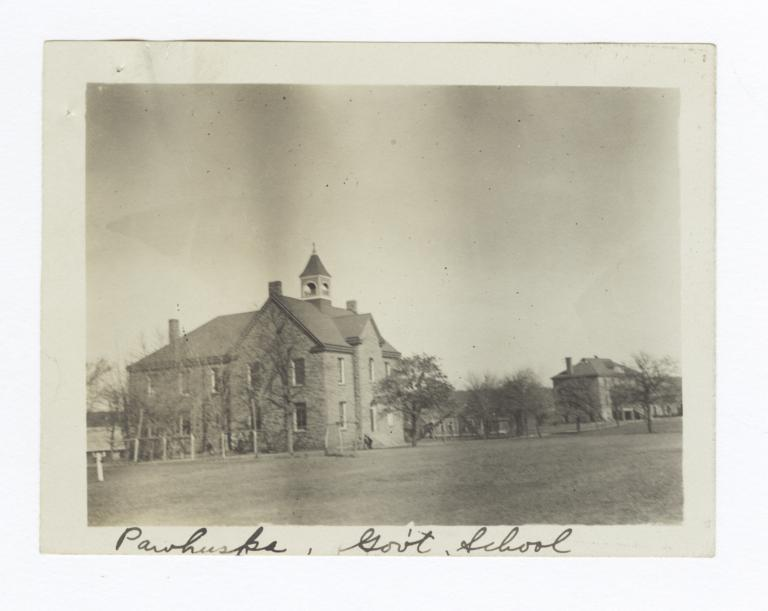 Osage Government School, Pawhuska, Oklahoma