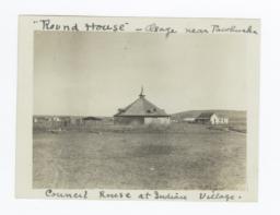 Pawhuska Council House in Village, Oklahoma