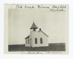 Elk Creek Kiowa Baptist Church Building, Oklahoma