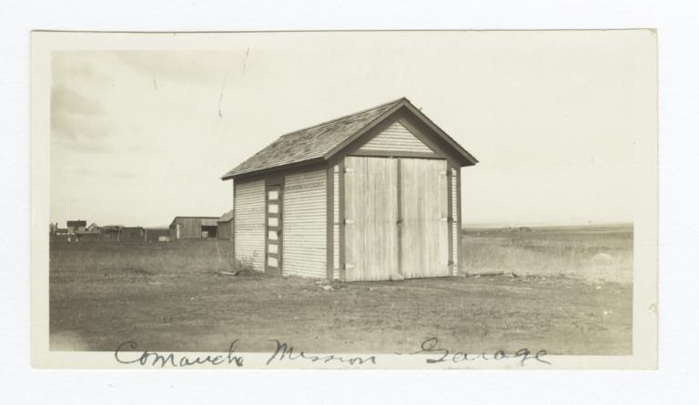 Comanche Mission, Garage