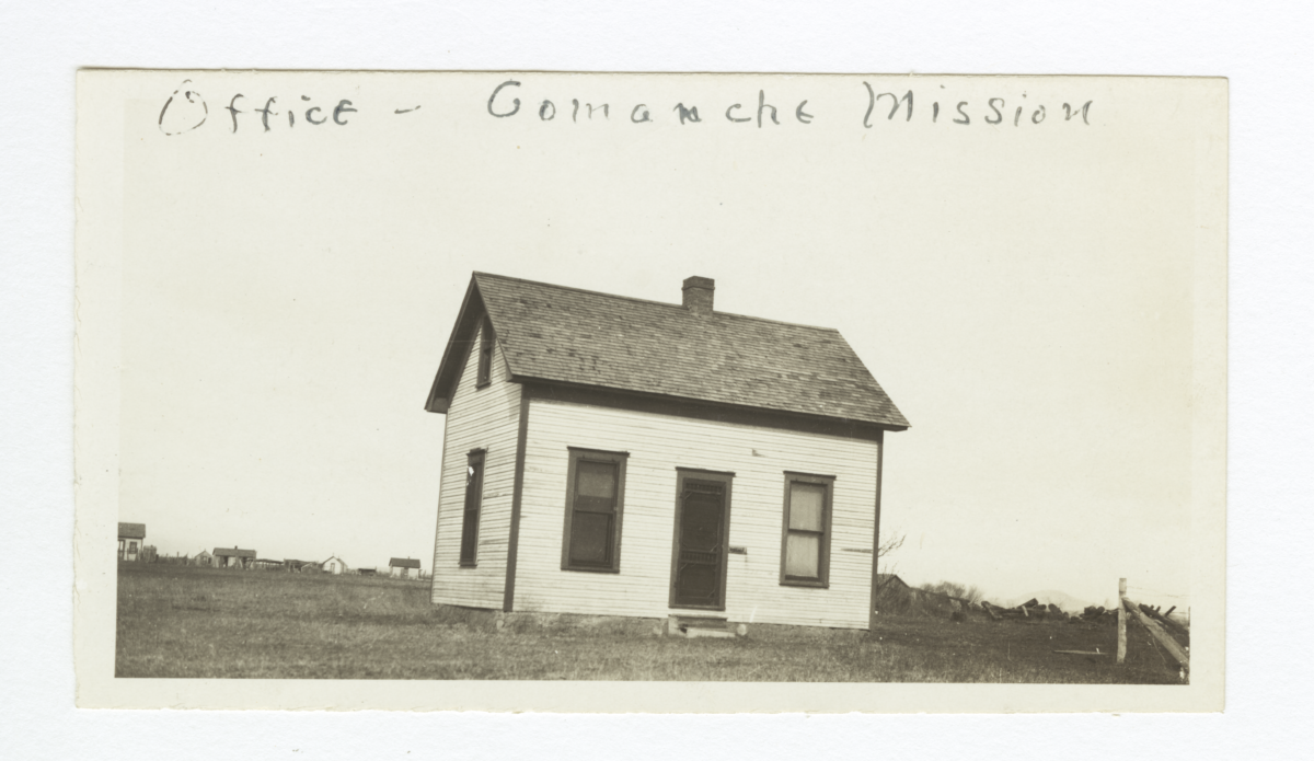 Comanche Mission, Office, Oklahoma