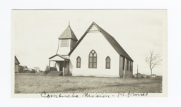 Comanche Mission, Reformed Church Building, Oklahoma