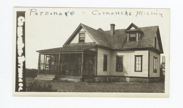 Comanche Mission, Parsonage, Oklahoma