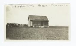 Comanch Mission, Interpreter's House, Oklahoma