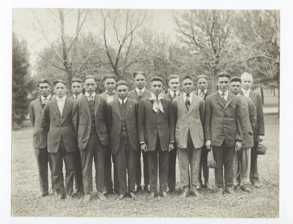 Chilocco Y.M.C.A. Cabinet