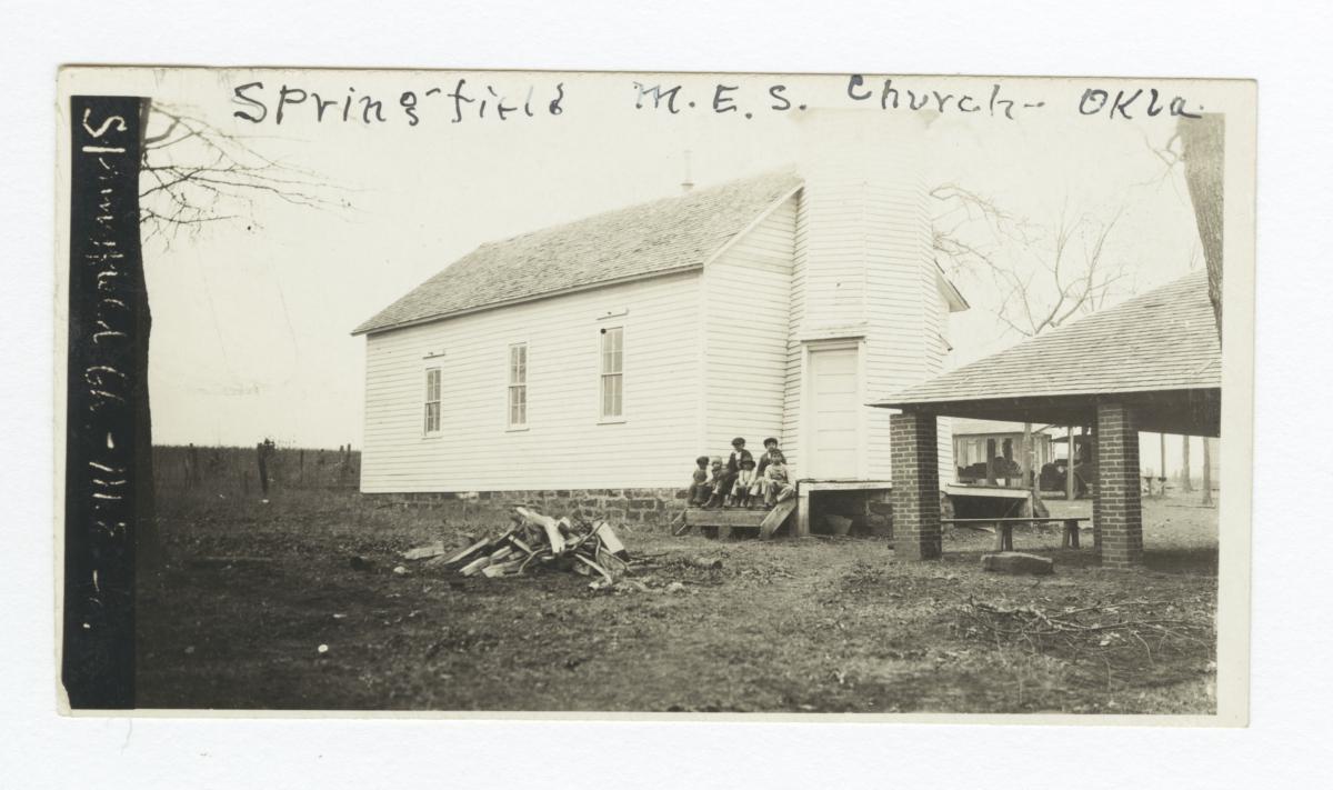 Springfield M.E.S. Church, Oklahoma