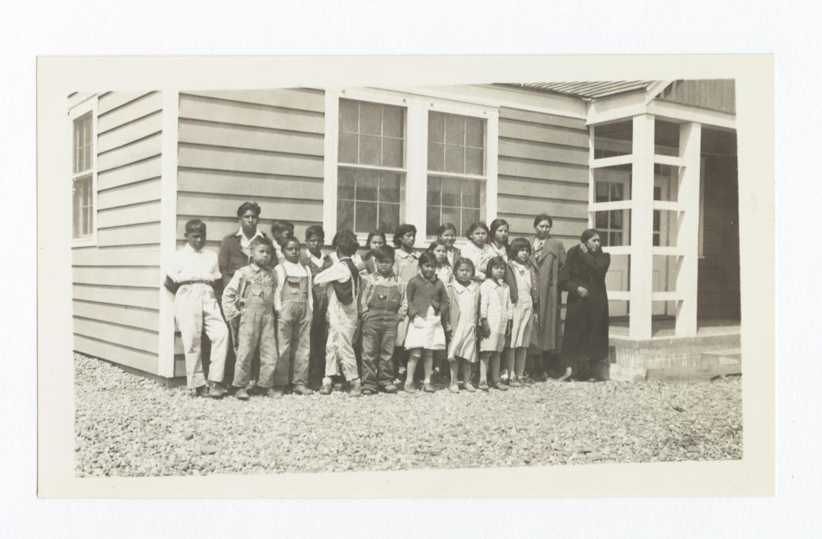 Group of Students at Mount Zion Community House and School