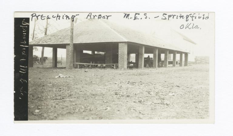 Preaching Arbor, Springfield, Oklahoma