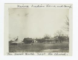 Mr. Ware's Home (Kiowa Indian Home and Camp), Hog Creek, Oklahoma