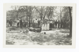 Indian Hi - Y and Girl Reserve Meeting, Oklahoma