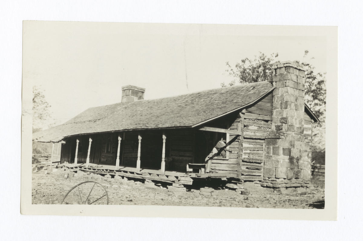 Old Raincrow Home, Cherokee County, Oklahoma