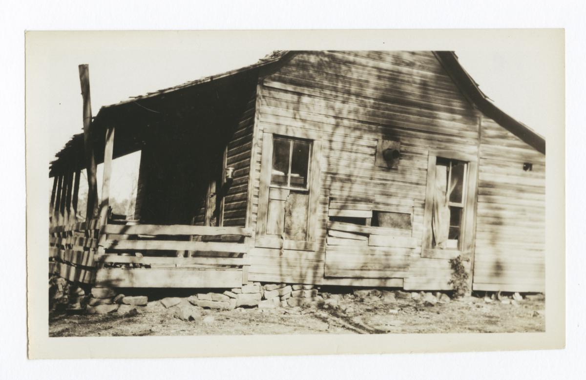 Home of Dave Holmes, Cherokee County, Oklahoma