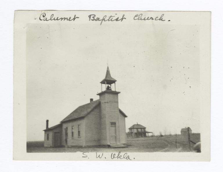 Calumet Baptist Church, South West Oklahoma