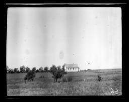 Missionary's Home near Cantonment, Oklahoma