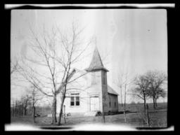 Cedar Creek Methodist Episcopal Church, near Carnegie, Oklahoma