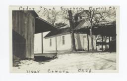 Cedar Creek Southern Baptist Church, near Coweta, Oklahoma