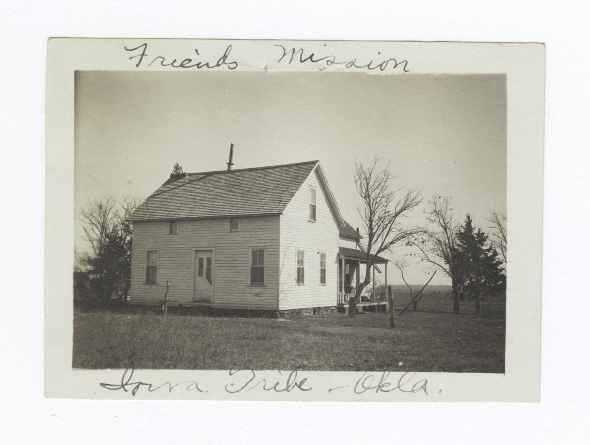 Friends Mission, Iowa Tribe of Oklahoma
