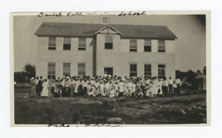 Danish Lutheran Mission School, Oaks, Oklahoma