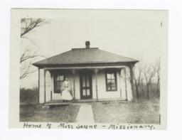 Home of Miss Jayne, Missionary, Oklahoma