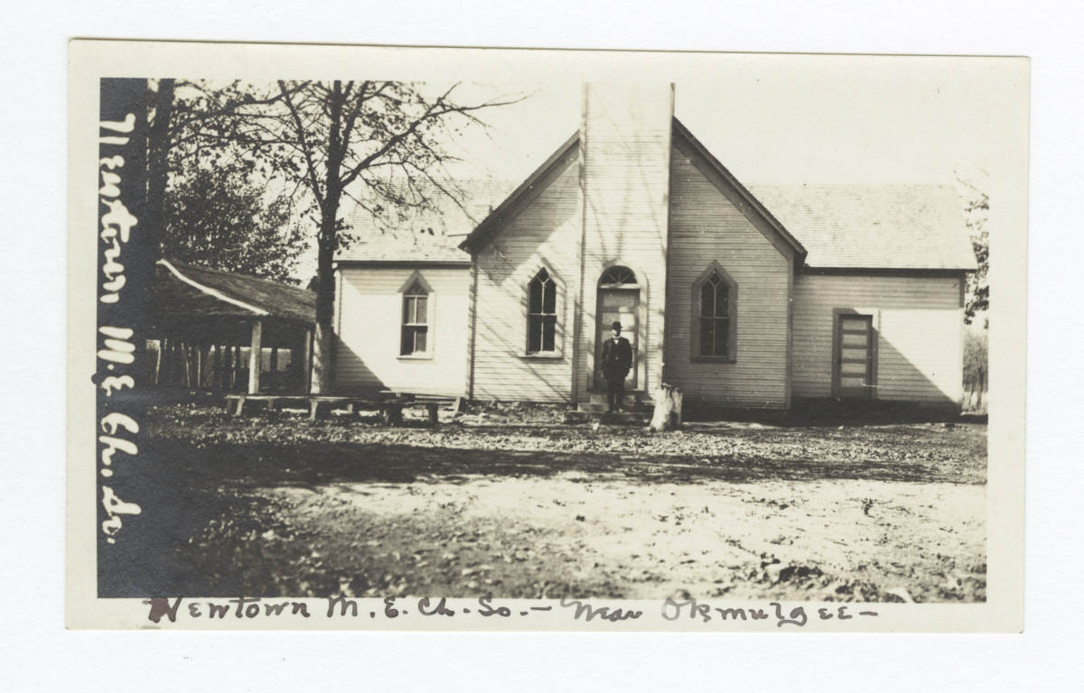 Newtown Methodist Episcopal Church, near Okmulgee, Oklahoma