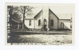 Newtown Methodist Episcopal Church, near Okmulgee, Oklahoma