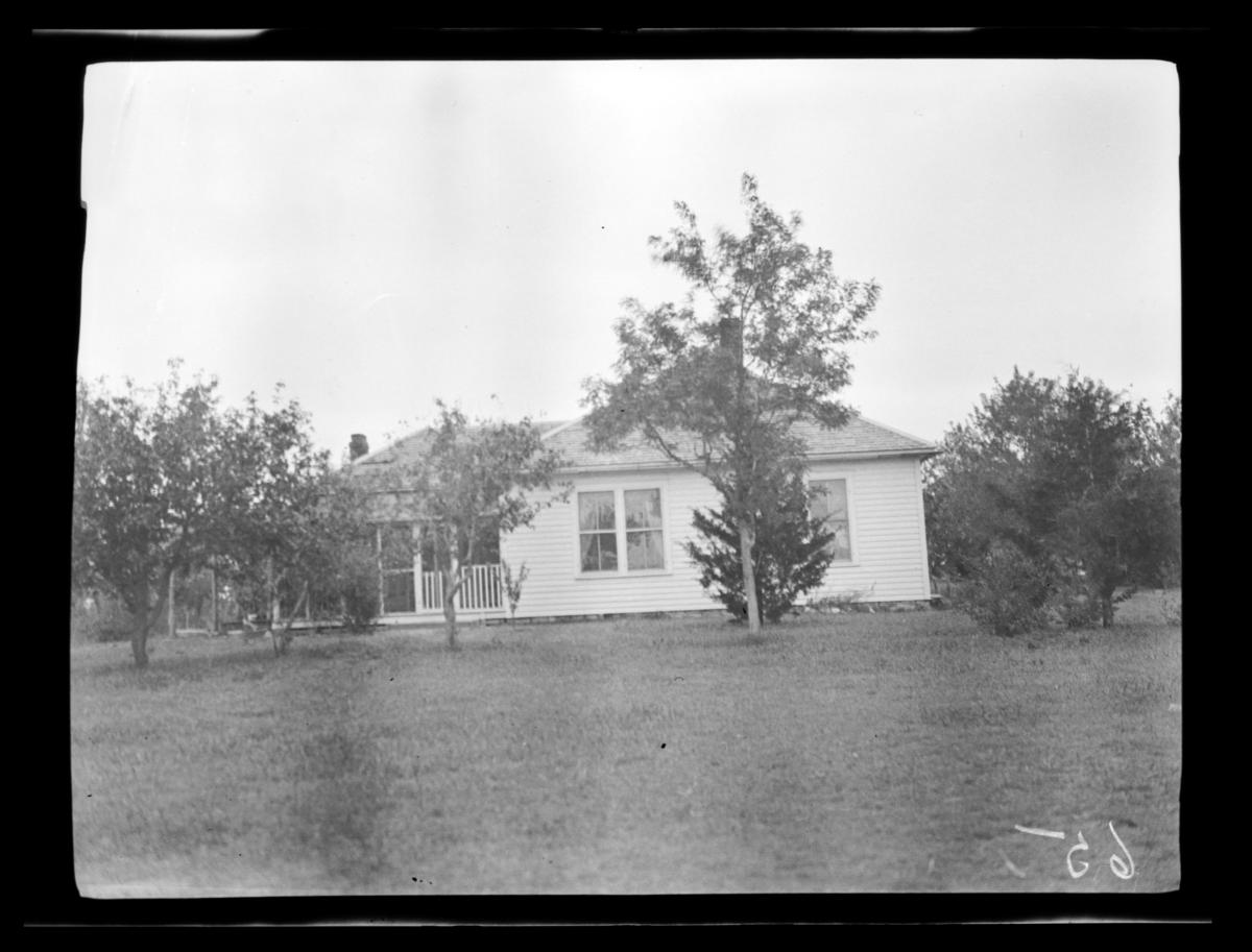 Mennonite Parsonage Cheyenne Mission, Cantonment, Oklahoma