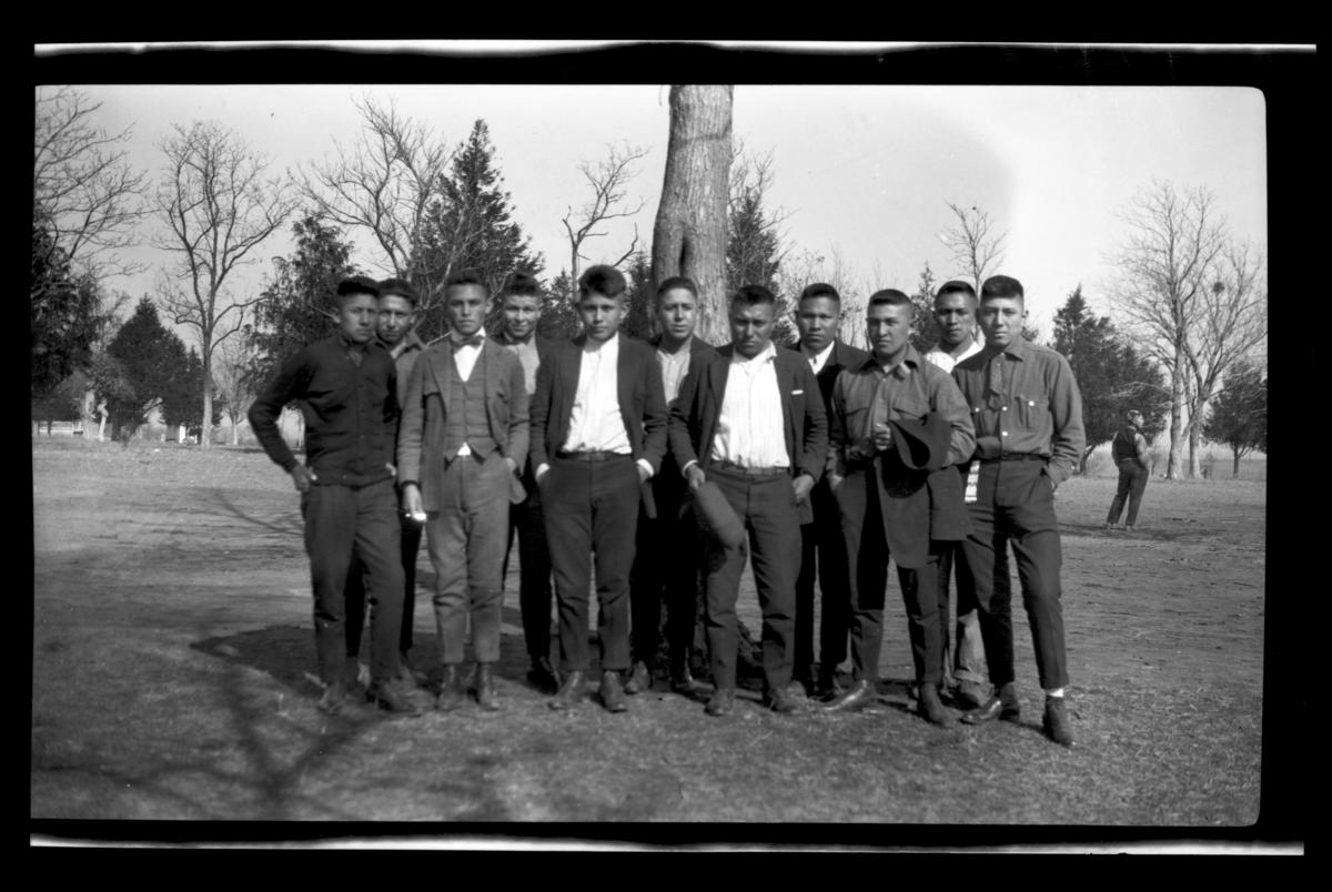 Student Group, Bacone, Oklahoma