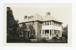 Home of Superintendent, Built of Native Rock