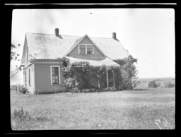 Home of Mennonite Missionary to the Cheyenne Indians, Cantonment, Oklahoma