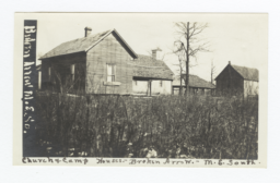 Church and Camp Houses at Broken Arrow Church