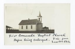 First Comanche Baptist Church, near Lawton, Oklahoma