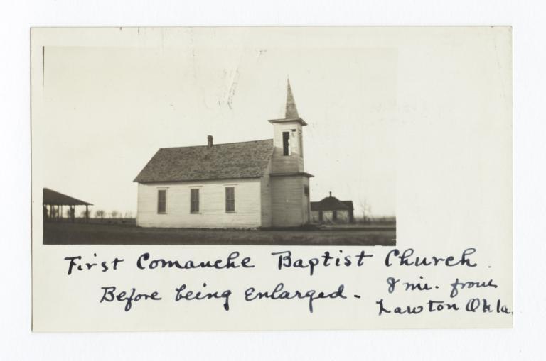 First Comanche Baptist Church, near Lawton, Oklahoma