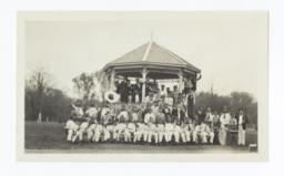 Brass Band at Hi-y Conference at Riverside School, Anadarko, Oklahoma