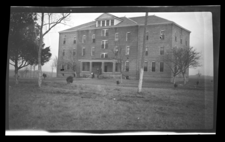 Girls' Dormitory, Bacone College, Oklahoma