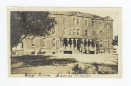 Boy's Dorm at Bacone College, Oklahoma