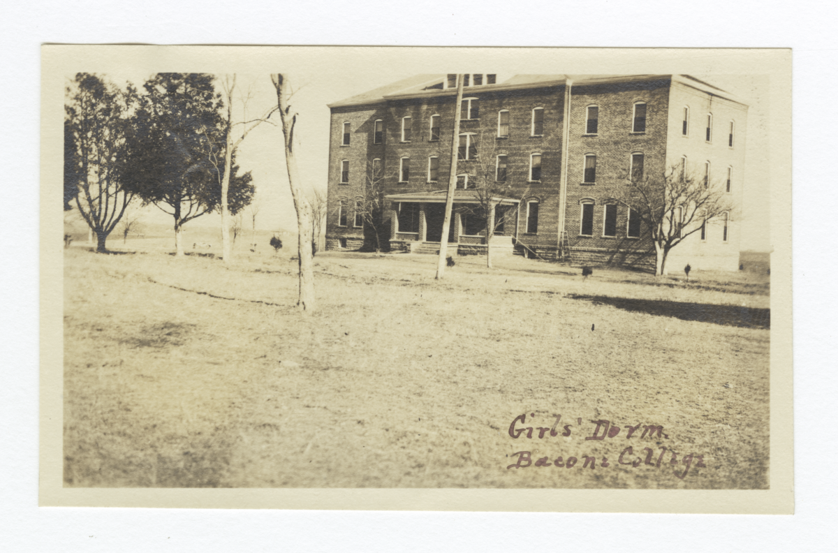 Girls' Dorm at Bacone College, Oklahoma