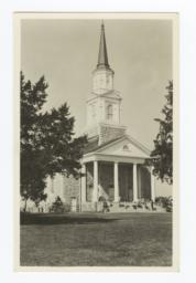 Memorial Chapel at Bacone College, Oklahoma