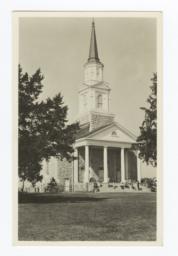 Memorial Chapel at Bacone College, Oklahoma
