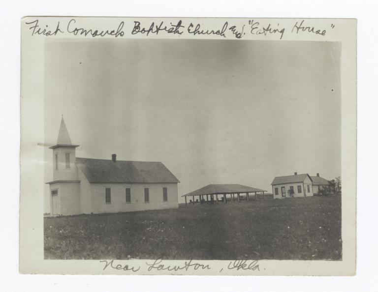 First Comanche Baptist Church and Eating House near Lawton, Oklahoma