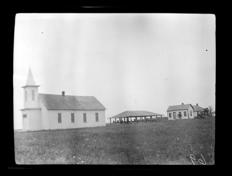 First Comanche Baptist Church and Eating House, near Lawton, Oklahoma
