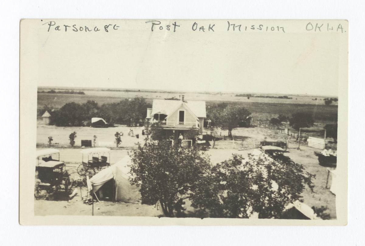Post Oak Mission, near Indiahoma, Oklahoma