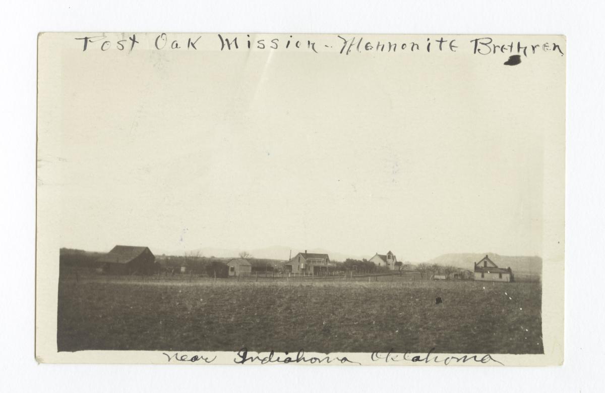 Post Oak Mission, Mennonite Brethren, near Indiahoma, Oklahoma