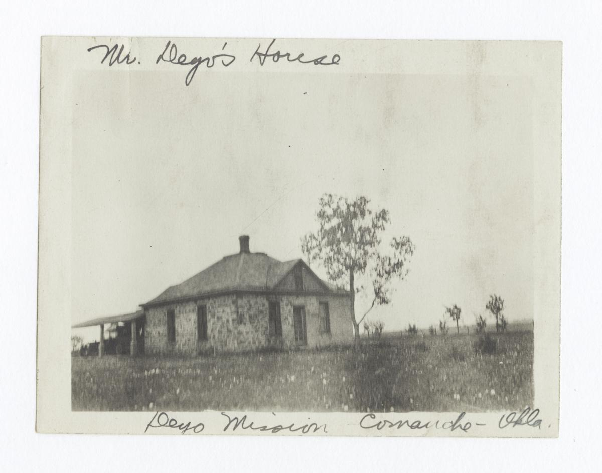 Mr. Deyo's House, Deyo Mission, Oklahoma