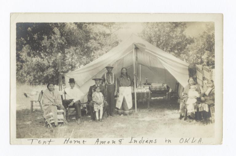 Tent  Home, Oklahoma