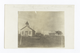 Mennonite Chapel & Parsonage, Oklahoma