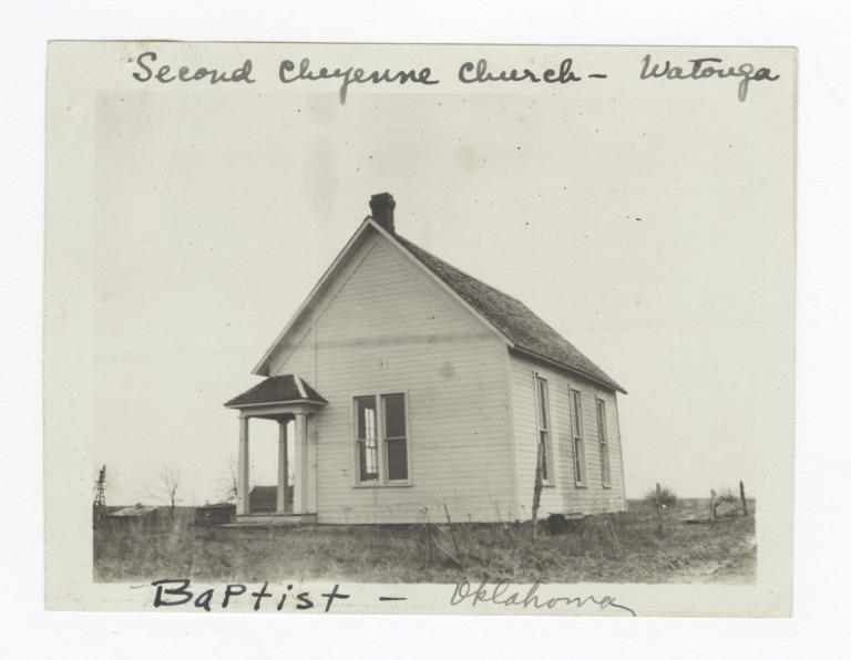 Second Cheyenne Church, Watonga, Oklahoma
