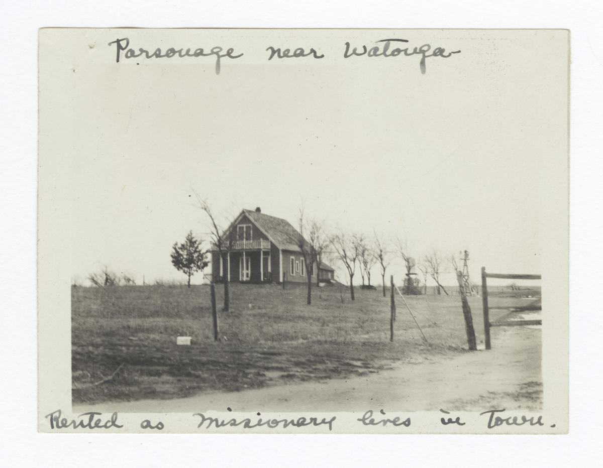 Parsonage, near Watonga, Oklahoma
