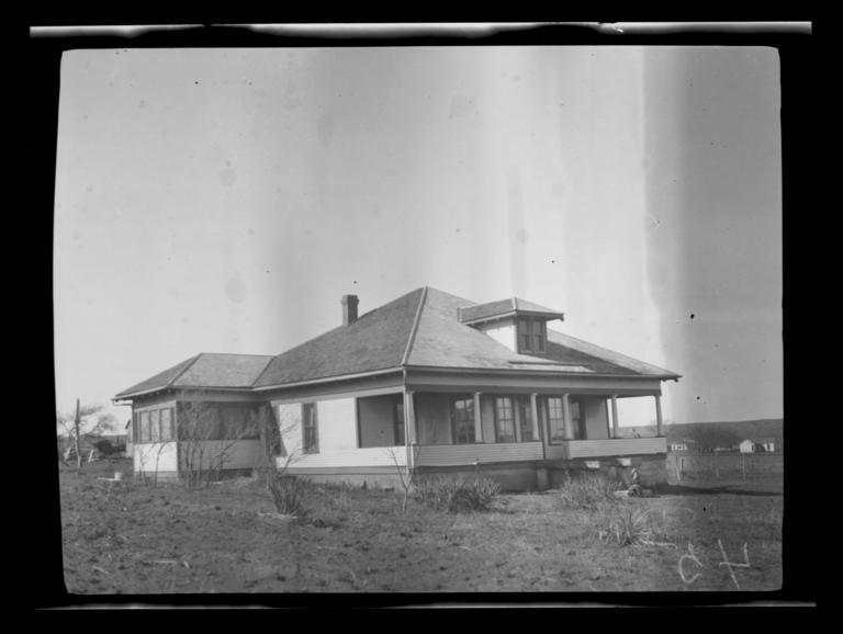 Red Stone Baptist Parsonage, near Anadarko, Oklahoma